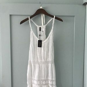 Polo Ralph Lauren white cover up dress